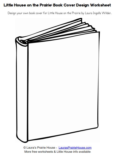 Little House on the Prairie Book Design Worksheet