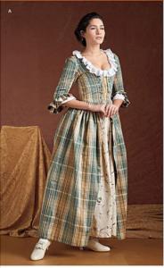 Stylish Pioneer Dress Costume Pattern