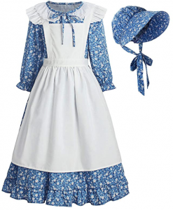 Little House on the Prairie Costume Blue