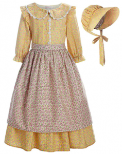 Little House on the Prairie Costume Yellow