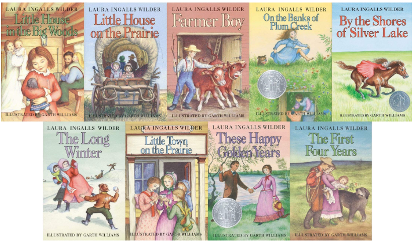Hard Cover Boxed Set of Little House Books by Laura Ingalls Wilder