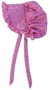 Girls Pink Pioneer Bonnet