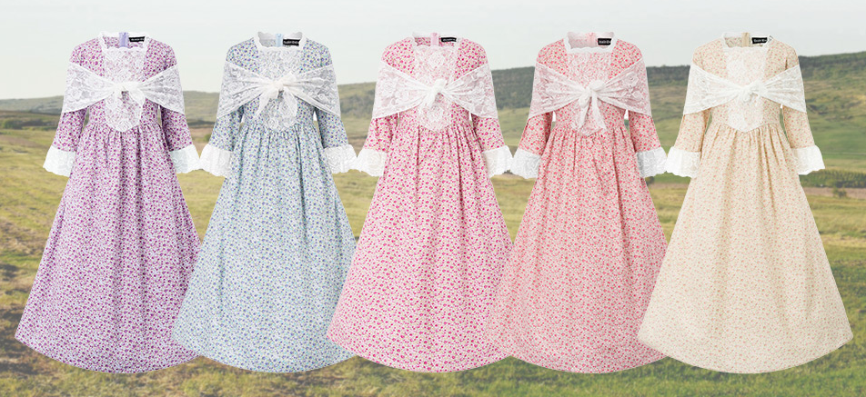 Pioneer Little House on the Prairie Costumes
