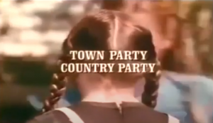 Town Party, Country Party - Little House on the Prairie TV Episode