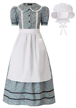 Pioneer Clothing for Cosplay, Reenactments, Dressing Up & Costumes